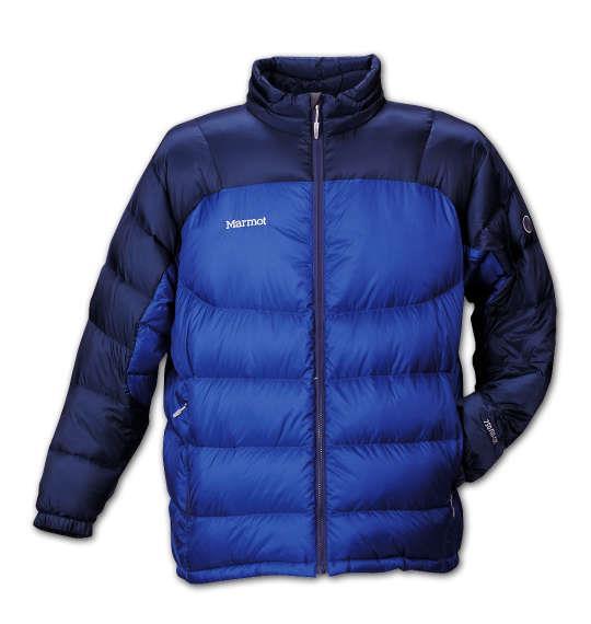 大きいサイズ メンズ Marmot クイックスダウンジャケット ナイトブルー × インク 1173-5310-1 3L 4L 5L 6L