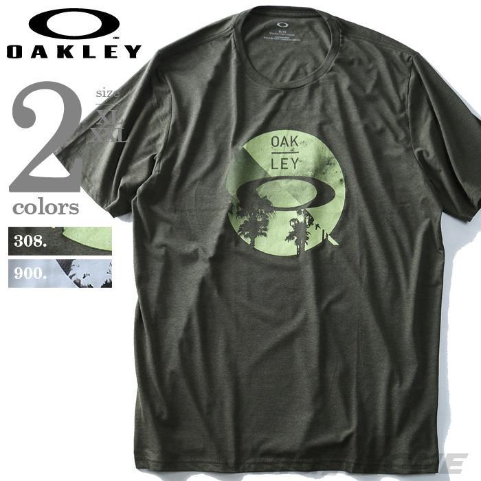 大きいサイズ メンズ OAKLEY オークリー 半袖 プリント Tシャツ USA 直輸入 oky457458ovt