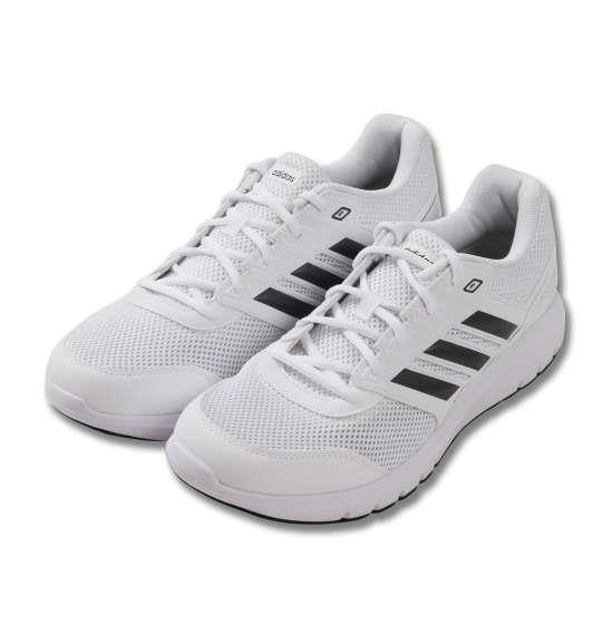 大きいサイズ メンズ adidas スニーカー デュラモライト2.0M シューズ 靴 ランニングホワイト 1140-8321-1 30 31 32