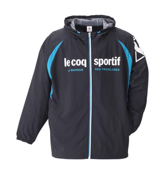 大きいサイズ メンズ LE COQ SPORTIF ウインドジャケット ブラック 1176-8350-2 2L 3L 4L 5L 6L