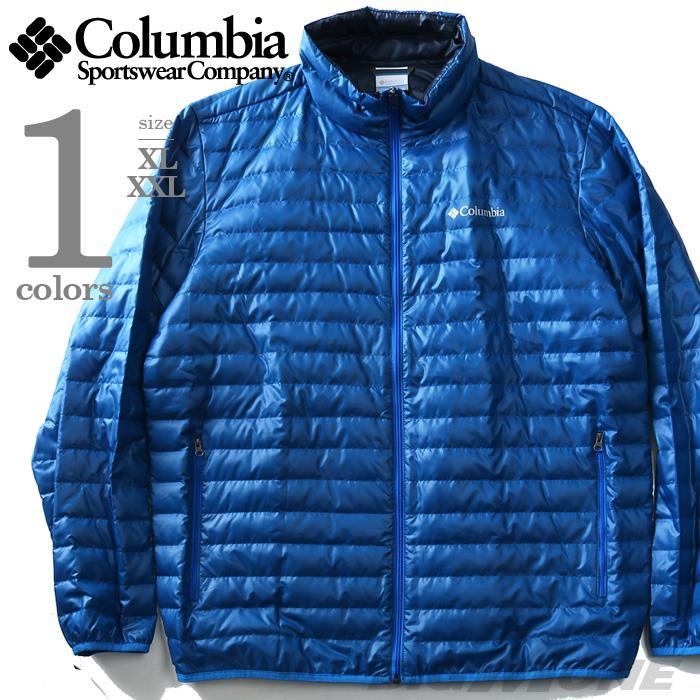 大きいサイズ メンズ Columbia コロンビア ジャケット アウター 中綿 ナイロンジャケット USA 直輸入 xo3417