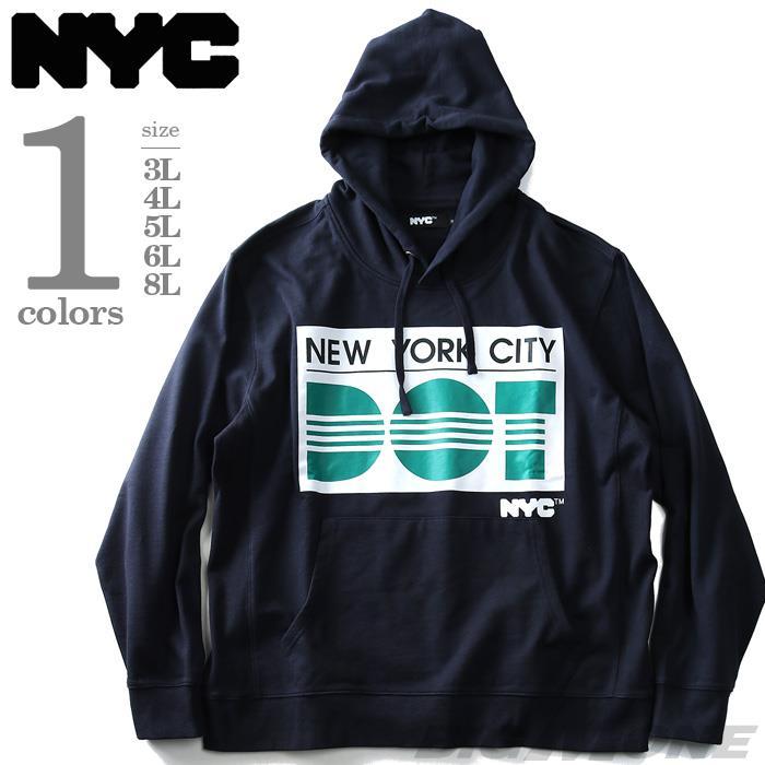 NYC プリントプルパーカー【秋冬新作】azsw-180457