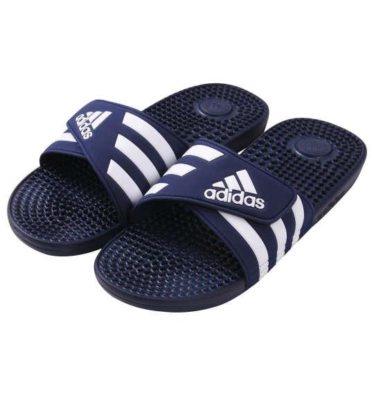 大きいサイズ メンズ adidas サンダル アディサージ ダークブルー 1140-9200-1 30.5 31.5