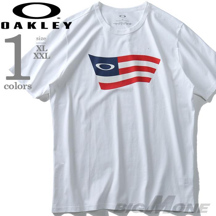 大きいサイズ メンズ OAKLEY オークリー 半袖 プリント Tシャツ USA直輸入 oky457398