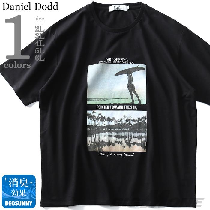 大きいサイズ メンズ DANIEL DODD フォト プリント 半袖 Tシャツ 春夏新作 azt-1902140