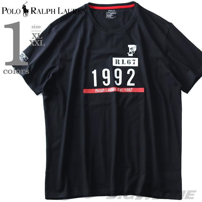大きいサイズ メンズ POLO RALPH LAUREN ポロ ラルフローレン プリント 半袖 Tシャツ USA直輸入 710737936
