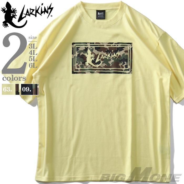 LARKiNSラーキンス迷彩ロゴ半袖Tシャツ春夏新作l1038-364