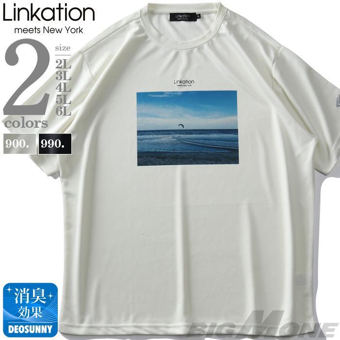 LINKATIONフォトプリント半袖Tシャツ春夏新作la-t210278