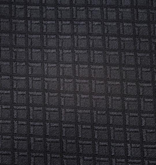 メンズ ロングサイズ ネクタイ ブラック 織柄 1020-7100-2 冠婚葬祭 葬儀 葬式 法事 大きいサイズ 3L 4L