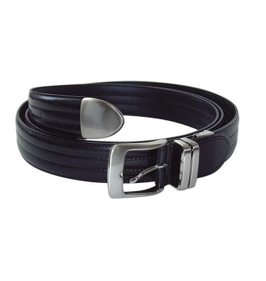送料無料 メンズ ベルト ブラック 1050-6210-1 大きいサイズ 5L