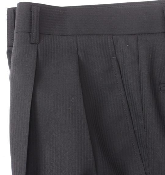 大きいサイズ メンズ Mc.S.P ツータック パンツ スラックス ボトムス ズボン ブラック 1154-0320-2 100 105 110 115 120 130 140 150 160