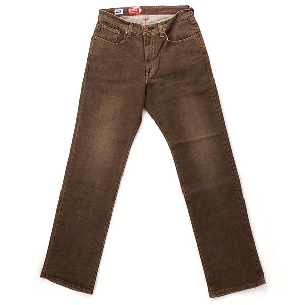 メンズ カジュアル EDWIN エドウィン ベーシック 404 ルーズストレート デニムジーンズ ブラウン 大きいサイズ ジーパン ボトムス ズボン パンツ 46 48 50 f404k-d-268