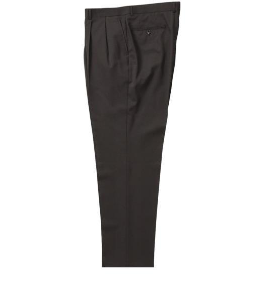 大きいサイズ メンズ Mc.S.P ツータック パンツ スラックス ボトムス ズボン ブラック 1154-1350-1 105 110 115 120 130 140 150 160