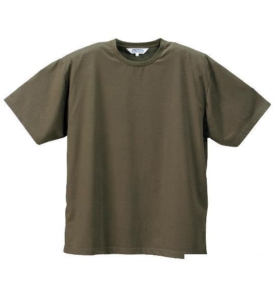 大きいサイズ メンズ OUTDOOR Tシャツ 半袖 半袖Tシャツ カーキ 1158-2500-4 3L 4L 5L 6L 8L
