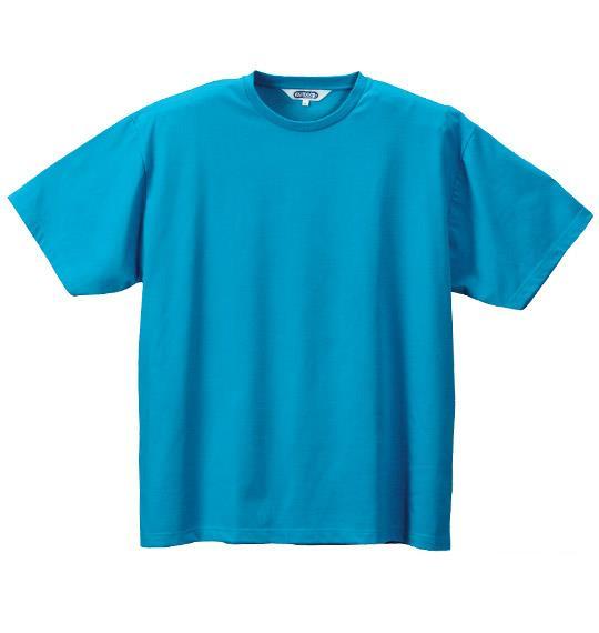 大きいサイズ メンズ OUTDOOR Tシャツ 半袖 半袖Tシャツ ターコイズ 1158-2500-6 3L 4L 5L 6L 8L