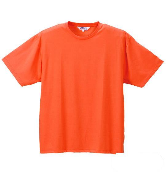 大きいサイズ メンズ OUTDOOR Tシャツ 半袖 半袖Tシャツ オレンジ 1158-2500-9 3L 4L 5L 6L 8L