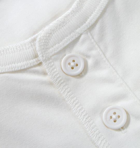 大きいサイズ メンズ OUTDOOR ヘンリー Tシャツ 半袖 半袖Tシャツ ホワイト 1158-2501-1 3L 4L 5L 6L 8L