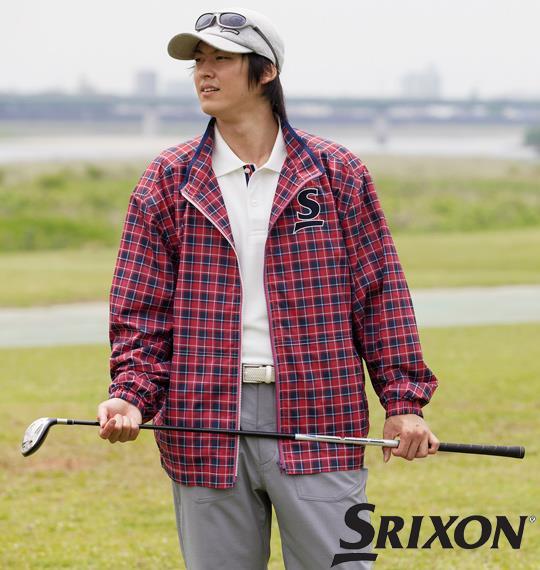 大きいサイズ メンズ SRIXON 撥水 ジャケット レッド 1173-2350-1 3L 4L 5L 6L