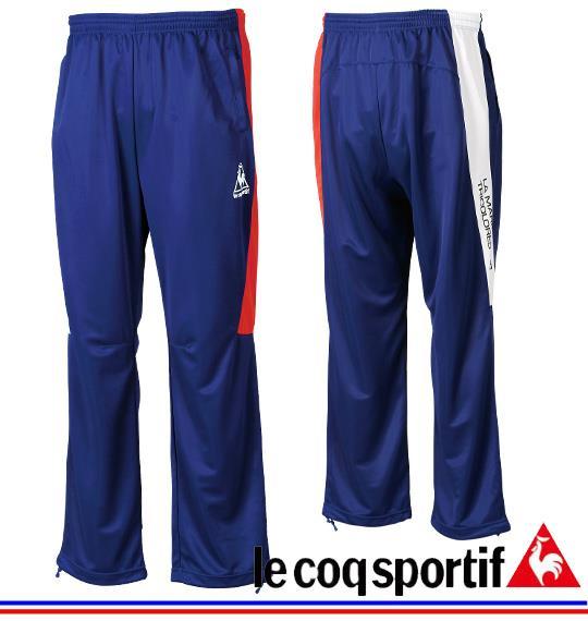 大きいサイズ メンズ LE COQ SPORTIF ウォームアップパンツ ボトムス ズボン パンツ ブルー 1176-3111-1 3L 4L 5L 6L