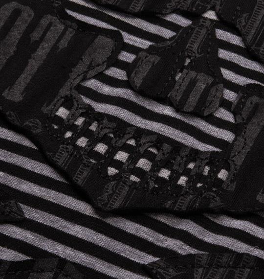 大きいサイズ メンズ in the attic Tシャツ 半袖 半袖Tシャツ ブラック 1158-3231-1 3L 4L 5L 6L