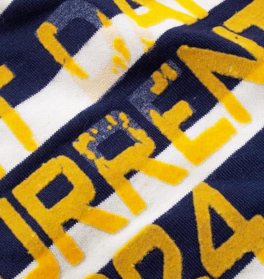 大きいサイズ メンズ LIFE GUARD ヘンリー Tシャツ 半袖 半袖Tシャツ ネイビー × ホワイト 1158-3221-2 3L 4L 5L 6L