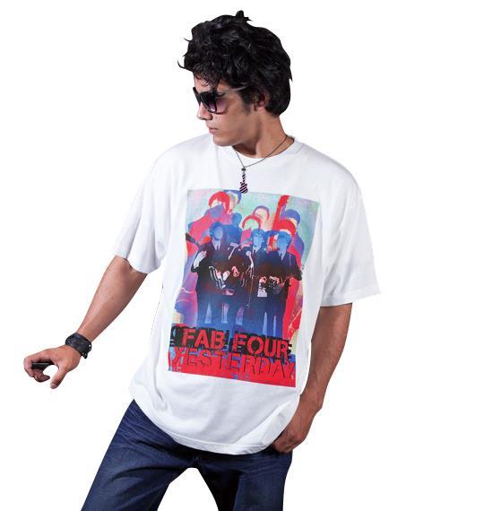 大きいサイズ メンズ Radio Days 半袖 Tシャツ 半袖Tシャツ ホワイト 1168-3275-1 3L 4L 5L 6L 8L