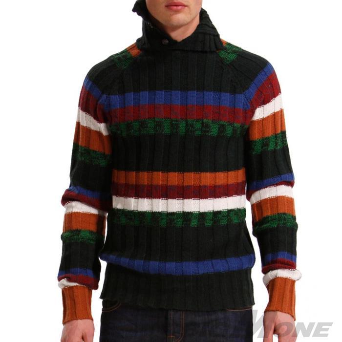 大きいサイズ メンズ XL XXL 3XL DESIGUAL (デシグアル) デザインセーター (Ulover) 38j1103
