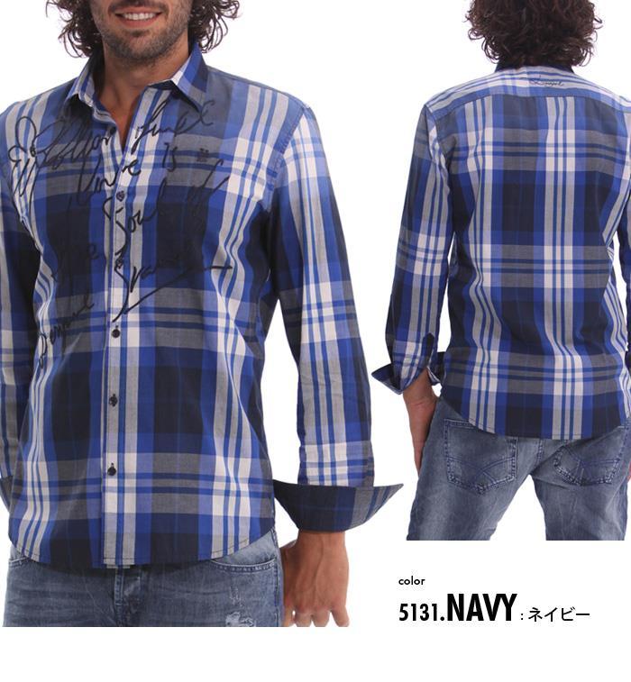 大きいサイズ メンズ XL XXL 3XL DESIGUAL (デシグアル) カジュアルシャツ (Javi) 42c1215