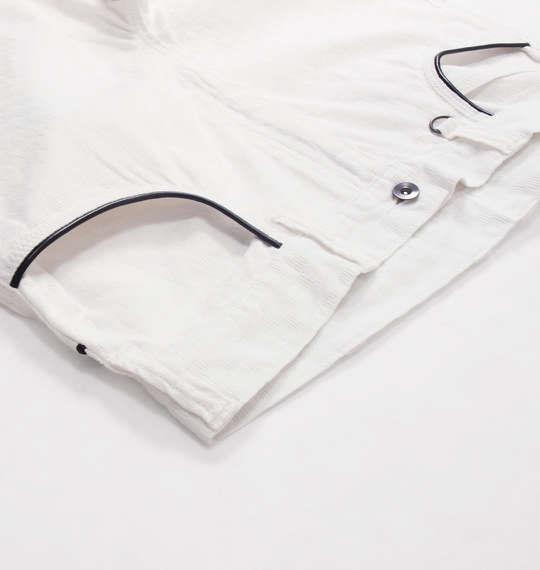 大きいサイズ メンズ ROOT THREE ブロック ジャガード パイピング パンツ ホワイト 1154-5120-1 100 110 120 130 140 150