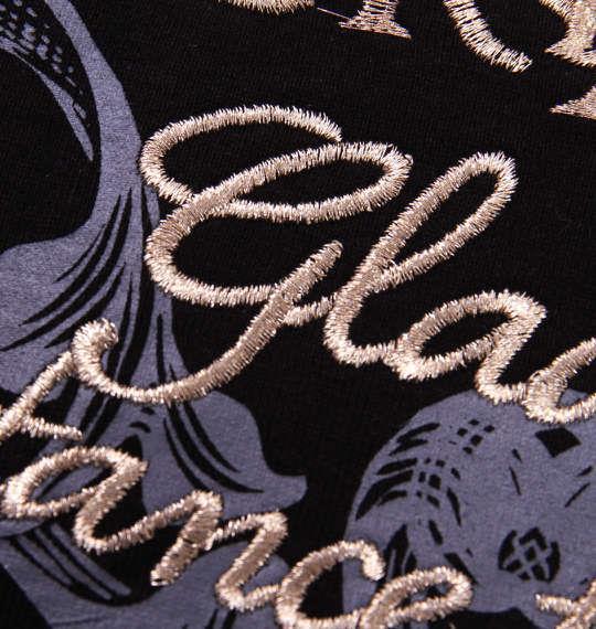 大きいサイズ メンズ GLADIATE 半袖 Vネック Tシャツ 半袖Tシャツ ブラック 1158-5225-1 3L 4L 5L 6L