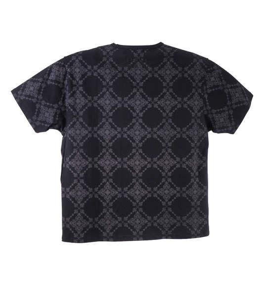 大きいサイズ メンズ GLADIATE 半袖 Vネック Tシャツ 半袖Tシャツ ブラック 1158-5227-2 3L 4L 5L 6L