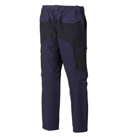 大きいサイズ メンズ Marmot 2WAY トレッキングパンツ ボトムス ズボン パンツ ネイビー × ブラック 1174-5200-3 3L 4L 5L 6L