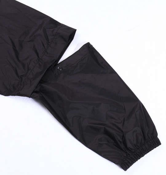 大きいサイズ メンズ SRIXON フード付 レインスーツ レインコート レインウェア ブラック 1176-5220-2 3L 4L 5L 6L 8L