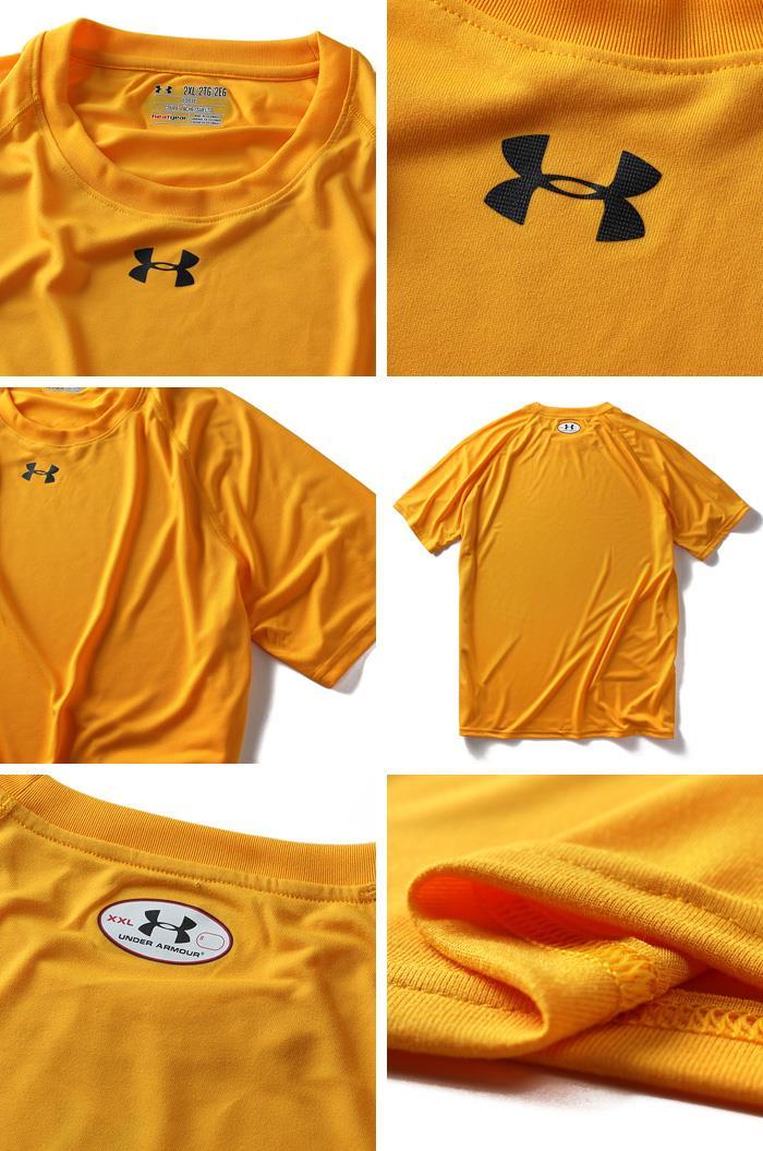 大きいサイズ メンズ UNDER ARMOUR アンダーアーマー 半袖 Tシャツ 半袖Tシャツ heatgear スポーツウェア USA 直輸入 1233672