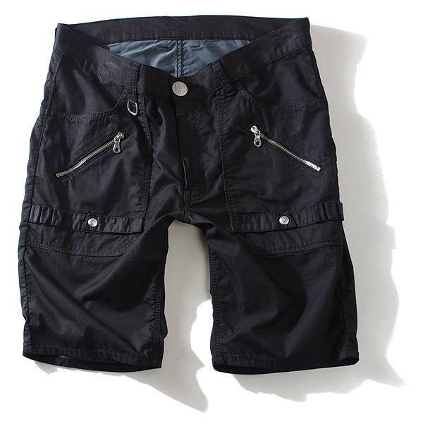 大きいサイズ メンズ LEE  リー ジップナロー カラー ショートパンツ ボトムス ズボン BRAVE RIDERS 08592