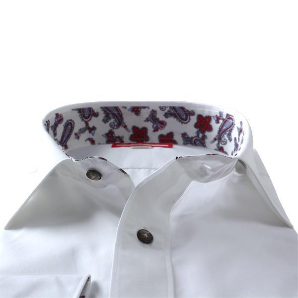 2点目半額 大きいサイズ メンズ SARTORIA BELLINI 長袖 Yシャツ ビジネス 長袖 ワイシャツ セミワイド レギュラーシャツ 45901