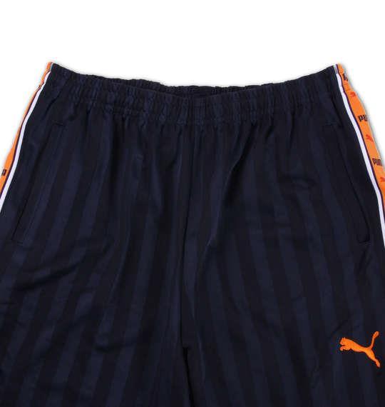 大きいサイズ メンズ PUMA トレーニングパンツ ボトムス ズボン パンツ スポーツ ネイビー × オレンジ 1176-5301-1 4XO 5XO 6XO 7XO