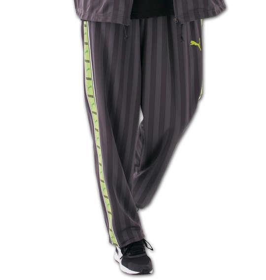大きいサイズ メンズ PUMA トレーニングパンツ ボトムス ズボン パンツ スポーツ チャコール × グリーン 1176-5301-3 4XO 5XO 6XO 7XO