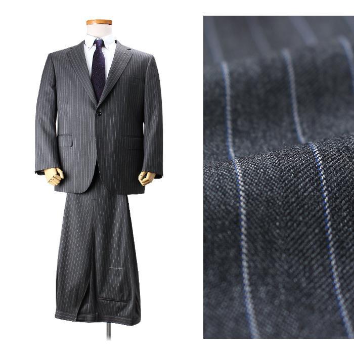 大きいサイズ メンズ SARTORIA BELLINI 日本製 ビジネス スーツ アジャスター付 シングル 2ツ釦 ビジネススーツ 高級スーツ 上下セット jbn5w006