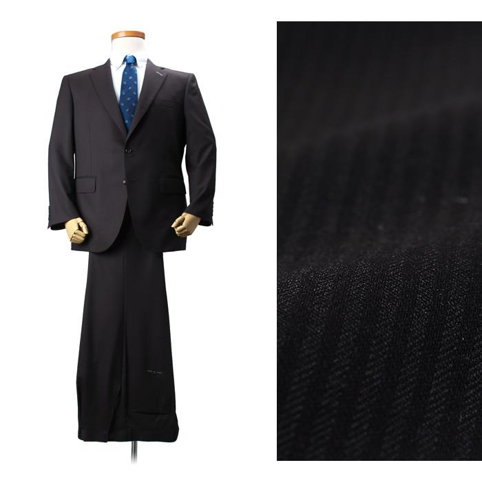 大きいサイズ メンズ SARTORIA BELLINI 日本製 ビジネス スーツ アジャスター付 シングル 2ツ釦 ビジネススーツ 高級スーツ 上下セット jbn5w008