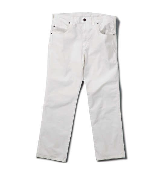 大きいサイズ メンズ Mc.S.P カツラギ ストレッチ 合皮使い パンツ ボトムス ズボン ホワイト 1154-5300-1 100 110 120 130 140 150 160