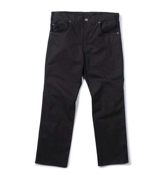 大きいサイズ メンズ Mc.S.P カツラギ ストレッチ 合皮使い パンツ ボトムス ズボン ブラック 1154-5300-2 100 110 120 130 140 150 160
