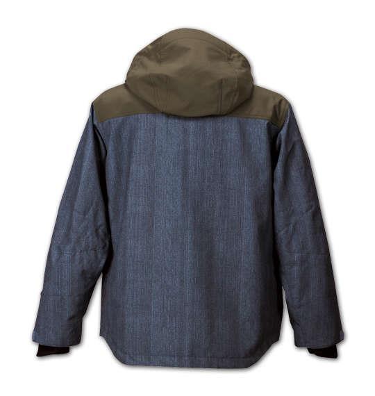 大きいサイズ メンズ nima スノボー ジャケット スノボーウェア デニムブルー 1156-5312-1 3L 5L 7L