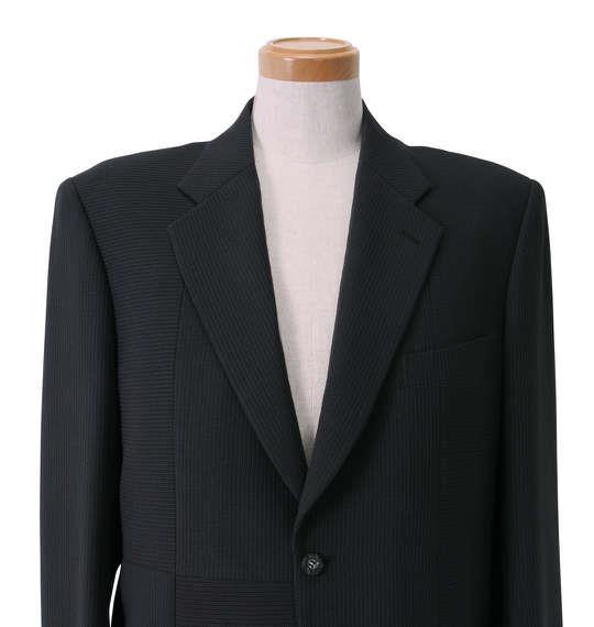 大きいサイズ メンズ シングル 2ツ釦 切替 スーツ グレー 1122-5312-1 2L 3L