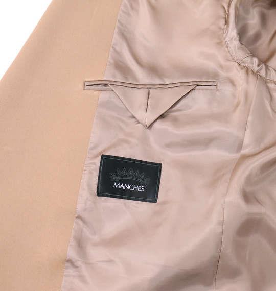 大きいサイズ メンズ シングル 3ツ釦 スーツ デザインスーツ キャメル 1122-5321-2 2L 3L 4L 5L