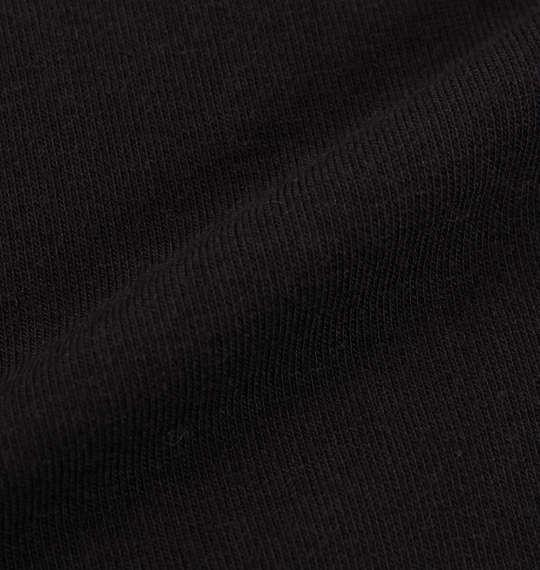 大きいサイズ メンズ 豊天 ひげ美豚背 裏ボア付 クルーネック 長袖 トレーナー ブラック 1158-5613-1 3L 4L 5L 6L
