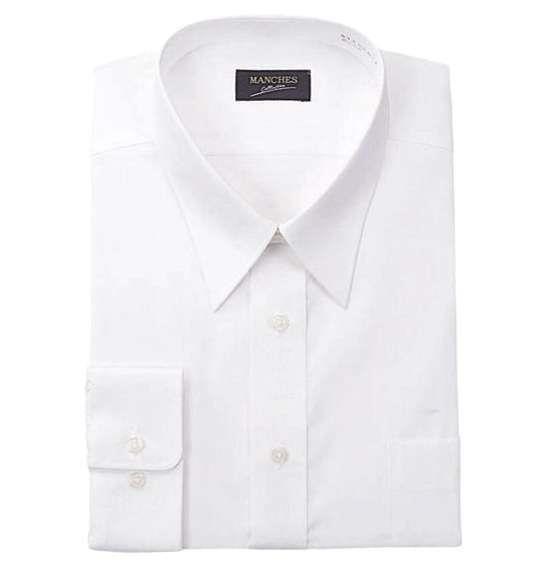 大きいサイズ メンズ レギュラーカラー長袖シャツ ホワイト 1177-5350-1 3L 4L 5L 6L 7L 8L 9L 10L