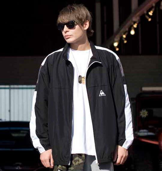 大きいサイズ メンズ LE COQ SPORTIF ウインドジャケット アウアー ジャンパー ジャケット ブラック 1176-6150-2 3L 4L 5L 6L
