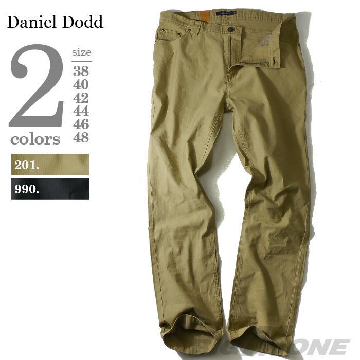 大きいサイズ メンズ DANIEL DODD ピケ5ポケットパンツ azp-1201