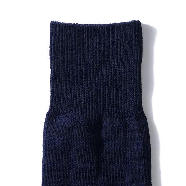 大きいサイズ メンズ AZ DEUX ビジネスソックス ブロック柄 ソックス 靴下 ビジネス F 28~30cm 7007